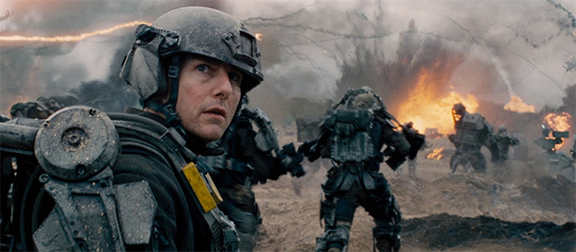 Tom Cruise dans Edge of Tomorrow (2014)