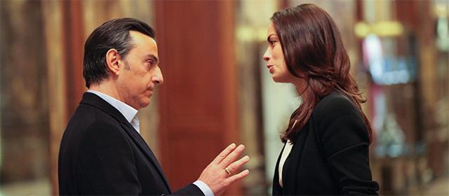 Yvan Attal et Bérénice Bejo dans Le Dernier Diamant (2014)