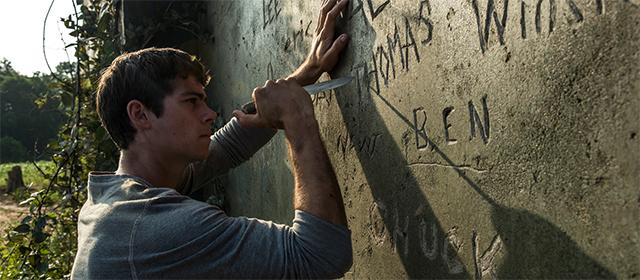 Dylan O'Brien dans Le Labyrinthe (2014)