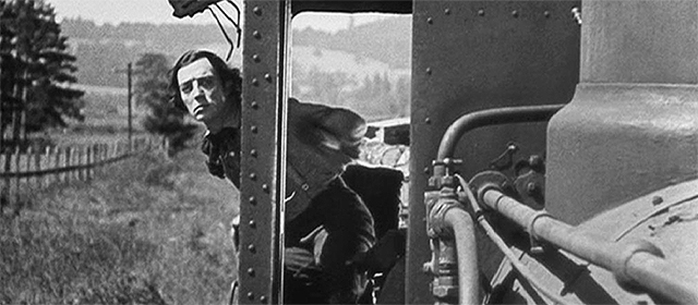 Buster Keaton dans Le Mécano de la General (1926)