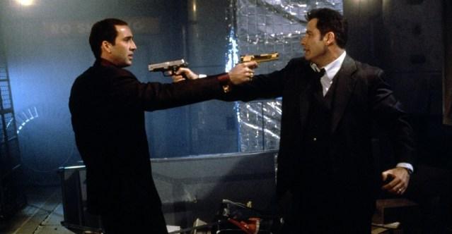 Nicolas Cage et John Travolta dans Volte/Face
