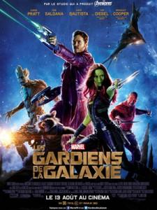 Affiche de Gardiens de la Galaxie