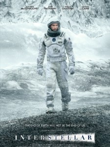 Affiche d'Interstellar