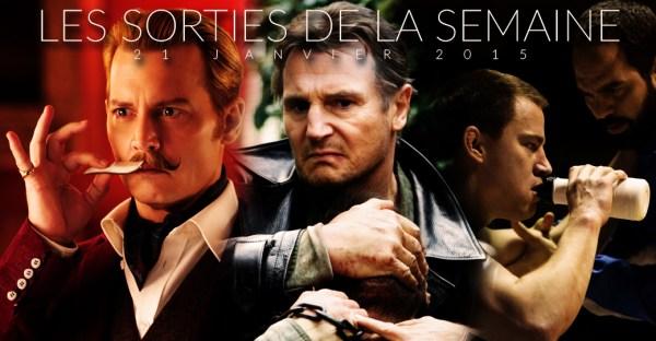 Sorties Cinéma 21 janvier 2015