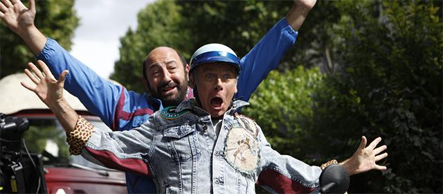 Kad Merad et Franck Dubosc dans Bis (2015)