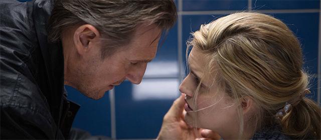 Liam Neeson et Maggie Grace dans Taken 3 (2015)