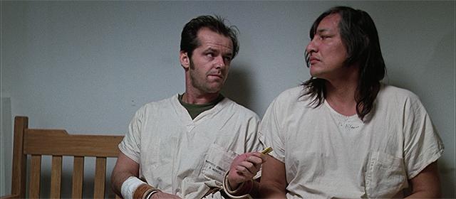 Jack Nicholson et Will Sampson