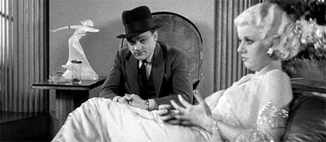 James Cagney et Jean Harlow dans l'Ennemi Public (1931)
