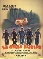 Affiche de La Belle Equipe (1936)