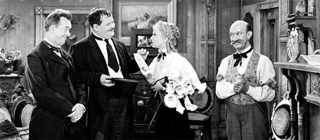 Laurel et Hardy au Far West (1937)