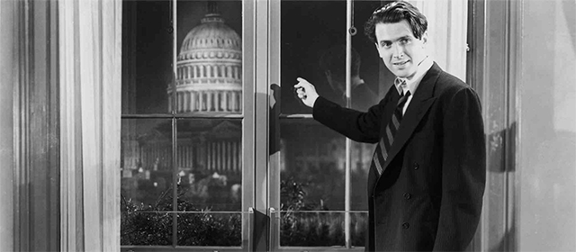 James Stewart dans Mr Smith au Sénat (1940)