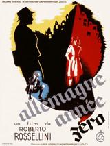 Affiche d'Allemagne année zéro (1949)