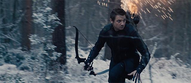 Jeremy Renner dans Avengers : l'ère d'Ultron (2015)