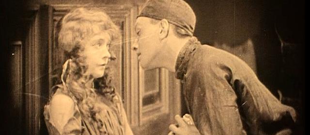 Lillian Gish et Richard Barthelmess dans Le Lys Brisé (1919)