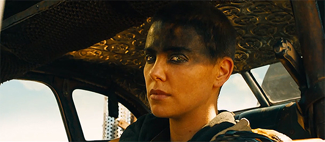Charlize Theron dans Mad Max : Fury Road (2015)