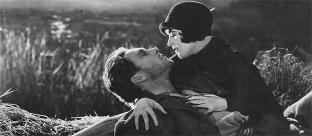 George O'Brien et Margaret Livingston dans L'Aurore (1927)