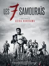 Affiche des Sept Samouraïs (1954)