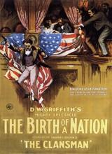 Affiche de La naissance d'une nation (1915)
