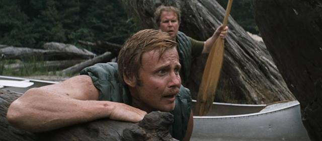 John Voight et Ned Beatty dans Délivrance (1972)