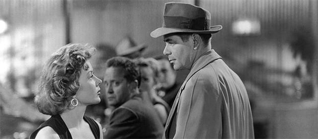 Gloria Grahame et Glenn Ford dans Règlement de comptes (1953)