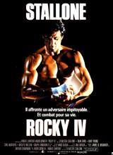 Affiche de Rocky IV (1985)