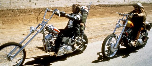Peter Fonda et Dennis Hopper dans Easy Rider (1969)
