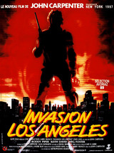 Affiche d'Invasion Los Angeles (1988)