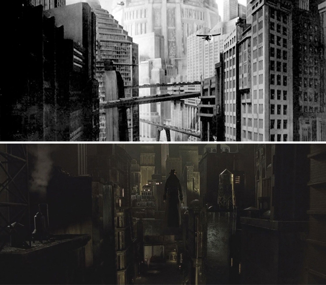 Metropolis vs Dark City