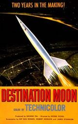 Affiche de Destination... Lune ! (1950)