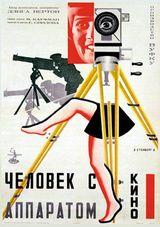 Affiche de L'Homme à la Caméra (1929)