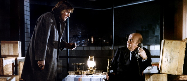Gérard Depardieu et Bernard Blier dans Buffet Froid (1979)