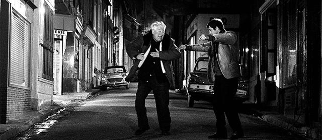 Jean Gabin et Jean-Paul Belmondo dans Un Singe en Hiver (1962)