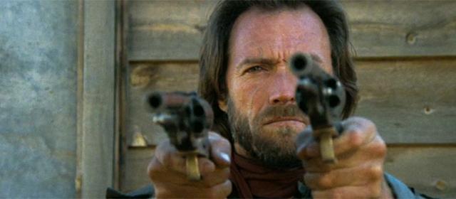 Clint Eastwood dans Josey Wales hors-la-loi (1976)