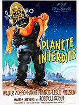 Affiche de Planète Interdite (1956)