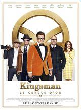 Affiche de Kingsman : Le Cercle d'or (2017)