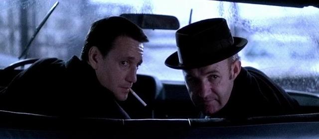 Roy Scheider et Gene Hackman dans French Connection (1971)