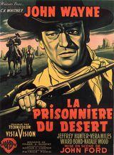 Affiche de La Prisonnière du désert (1956)