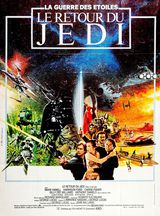 Affiche de Star Wars Episode VI : Le Retour du Jedi (1983)