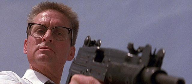 Michael Douglas dans Chute Libre (1993)