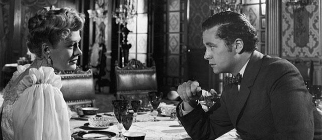 Dolores Costello et Tim Holt dans La Splendeur des Amberson (1942)