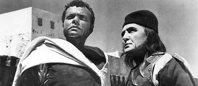 Orson Welles et Micheal McLiammoir dans Othello (1952)