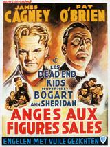 Affiche des Anges aux figures sales (1938)