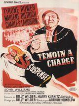 Affiche de Témoin à charge (1957)