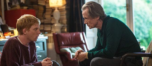 Domhnall Gleeson et Bill Nighy dans Il était temps (2013)