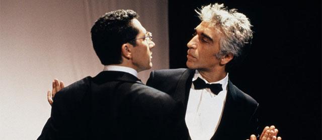 Alain Chabat et Gérard Darmon dans La Cité de la Peur (1994)