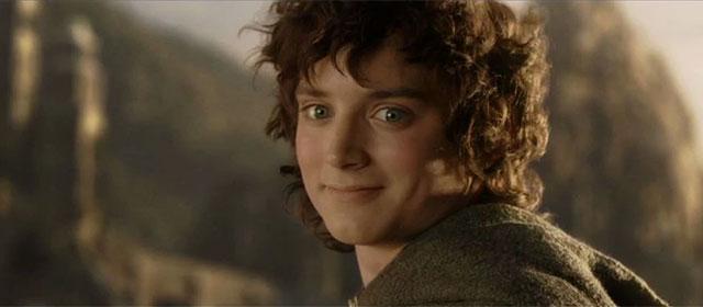 Elijah Wood dans Le Seigneur des Anneaux : Le Retour du Roi (2003)