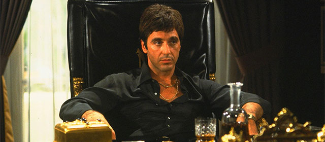 Al Pacino dans Scarface (1983)