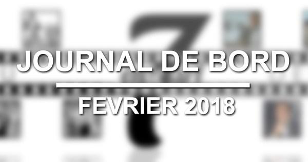 Journal de bord février 2018