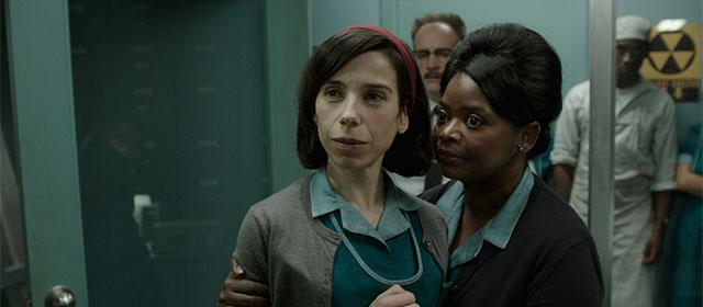Sally Hawkins et Octavia Spencer dans La Forme de l'Eau (2018)