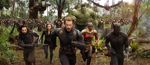 Avengers : Infinity War (2018)